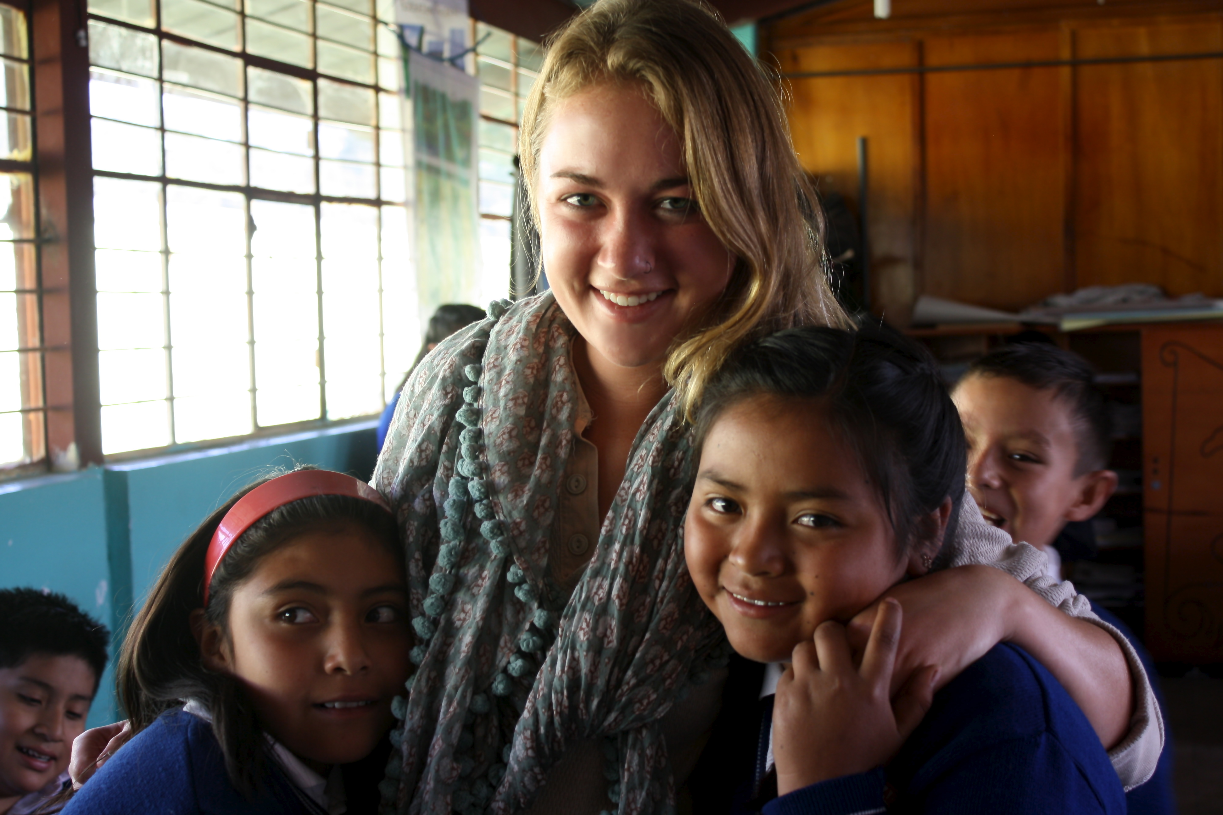 Nutrition student teaches healthy eating habits to community in Ecuador