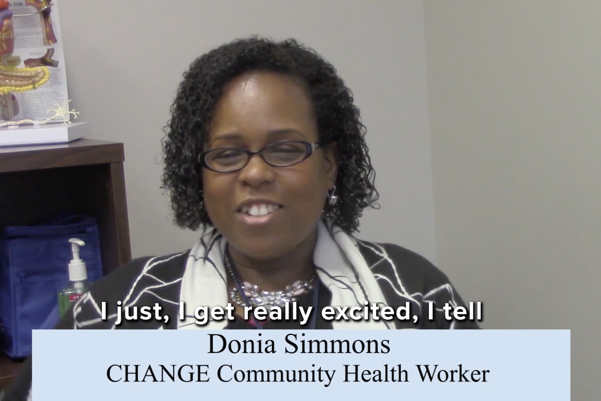 Interview with Donia Simmons, CHANGE Community Health Worker
