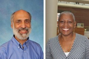 Headshots of HPDP researchers Tom Keyserling and Carmen Samuel-Hodge