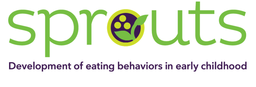 Logo for Sprouts: development of eating behaviors in early childhood