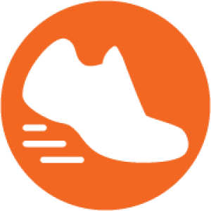 Icon of athletic shoe