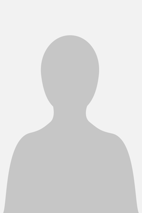 Placeholder for headshot (silhouette of a person)