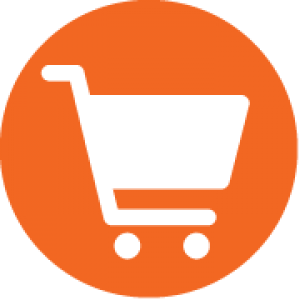 Icon of a shopping cart
